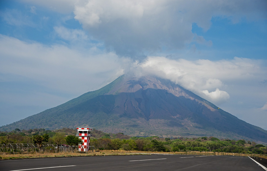 Concepcion Volcano on Ometepe Island, which is inside Lake Nicaragua. Photo: ISA/Michael Tweddle
