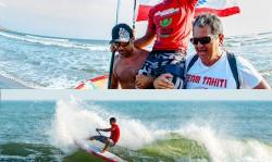 El tahitiano Poenaiki Raioha continuó con su actuación estelar al igual que en los dos primeros días para convertirse en el nuevo Campeón Mundial de SUP Surfing de la ISA.  Con dos puntajes impresionantes de 8.93 and 8.57 para un total de serie de 17.50, el más alto de todo el evento. Foto: ISA/Tweddle and Gonzales