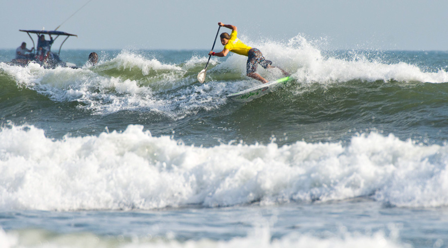 USA's Sean Poynter. Photo: ISA/Michael Tweddle