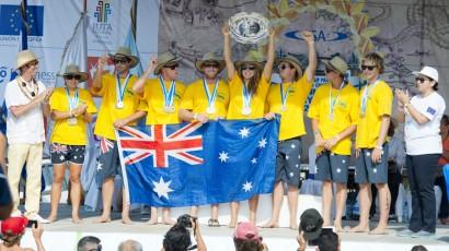AUSTRALIA WINS THIRD CONSECUTIVE TEAM GOLD MEDAL AT THE 2014 ISA WORLD STANDUP PADDLE AND PADDLEBOARD CHAMPIONSHIP IN NICARAGUA Image Thumb